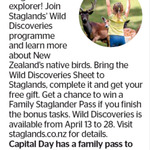 Win a Family Pass to Staglands from The Dominion Post (Wellington)