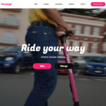 15 Minutes Free Rider Credit @ Flamingo Scooters