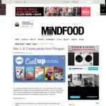 Win 1 of 2 Penguin Book Packs (Worth $175) from Mindfood