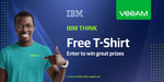 Free T-Shirt from Veeam (Business Email Required)