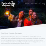 Kids Go Free with Adult Tickets* Twilight Tour @ Footprints Waipoua (Northland)