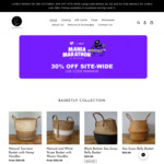30% off Sitewide at Basketly - MANIA30 at Checkout