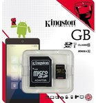128GB Kingston MicroSDHC Card with SD Adapter (Class 10 UHS-I) $69.99 (Save $170) @ MightyApe