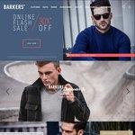 Barkers 30% Online Flash Sale