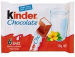 Kinder Chocolate T6 126g $1 Delivered @ The Warehouse