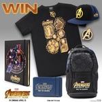 Win 1 of 3 Avengers: Infinity War Prize Packs (Bag, Shirt, Notebook etc.) from Kidspot