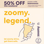 50% off Zoomy This Weekend for All Riders