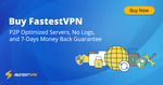 Cyber Month Sale: 5 Year VPN  NZ $73.96 (NZ $1.23 Per Month) @ Fastest VPN