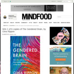 Win 1 of 6 copies of The Gendered Brain, by Gina Rippon from Mindfood