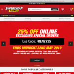 25% off Sitewide at Supercheap Auto