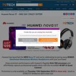 Huawei Nova 5T with free Sennheiser Wireless Headphones at  PBTech (Thu, 19 Sept, 2019 only)