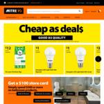 Tui Lawn Fertiliser 8kg $12, Energizer LED Light Bulb A60 $1, #8 Butane Gas Cannister Pack of 3 $3 + More @ Mitre 10