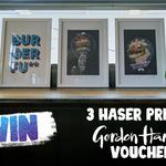 Win 1 of 3 Haser BurgerFuel Prints + a $100 Gordon Harris Voucher from BurgerFuel