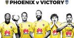 GrabOne: GA Ticket to Wellington Phoenix vs Melb Victory - $20 (Save $15)