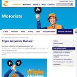 Triple Airpoints Dollars @ Z