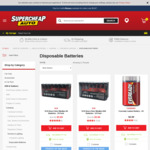 SCA Battery Heavy Duty Alkaline (AAA or AA) 24 Pack  $5.89 (Was $10.89) at Supercheap Auto