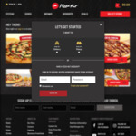 Free Cheese Pizza - with Any Order over $20 @ Pizza Hut