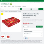 Griffins Sampler Biscuits Assortment Box 1kg for $14 (Was $19) @ Countdown