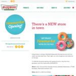 10,000 Free Original Glazed Doughnuts 5/3 8:30am @ Krispy Kreme (Newmarket)