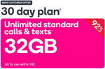 Kogan Prepaid Voucher 32GB, 30 Days $4.90 (New Customers Only) @ Dick Smith / Kogan