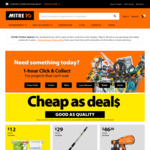 Cheap as Deals @ Mitre 10