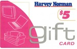 Free Shipping @ Harvey Norman with Purchase of $5 Gift Card