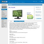"""Dell Full-HD 21.5"""" LED Monitor $99.99 + Shipping @ First in"""
