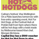 Win a $100 Voucher for Hot for Hot Dogs from The Dominion Post
