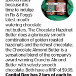 Win 2 Jars of Fix & Fogg's from The Dominion Post