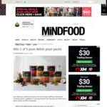 Win 1 of 5 Pure Delish Prize Packs from Mindfood