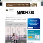 Win 1 of 10 copies of Rosie on DVD Worth $30ea from Mindfood