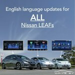 $100 off English Head Unit Software Conversions for Nissan Leaf @ Drive EV