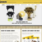 Free Jimbo's Premium Pet Food ($6 Value) [Email Signup Required]