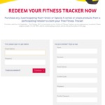 Free Fitness Tracker - Purchase Any 3 Participating Kellogs Nutri-Grain or Special K Cereal