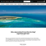 Win a Trip for 2 to Queensland, Australia (Includes a 4-Night Great Barrier Reef Cruise) from Air New Zealand