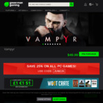 Codemasters Woot Crate (4 Games) USD $1/$1.50 (w/ Coupon) & 25% OFF On All PC Games @ Green Man Gaming