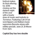 Win 1 of 2 Double Passes to The Lõemis Winter Solstice Festival from The Dominion Post (Wellington)