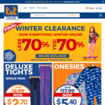 70% off Winter Childrenswear + $5 Shipping (or Free Shipping over $40) @ Tandt.co.nz