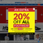20% off Footwear @ SportsDirect