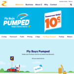10c off Per Litre Tomorrow @ Z - Pumped Up Day
