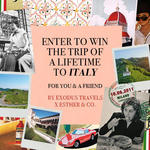 Win a Trip for 2 to Italy from Esther & Co