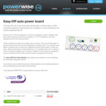 Easy-off Auto Power Board $35 + Shipping @ Powerwise
