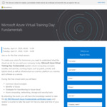 Free - Official Microsoft Azure Fundamentals Instructor-Led Training and Certification
