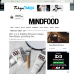 Win 1 of 2 Bulldog Skincare Happy New Beard Grooming Kits from Mindfood
