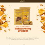 Win 1 of 50 Whittaker's Hokey Pokey Crunch Prize Packs - 250g Block, Two Slabs and a Bag of Mini-Slabs