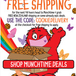 Free Shipping @ Cookie Time
