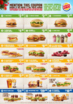 Burger King Coupons: Chesseburger $2.00, BBQ Rodeo $2.50, Nugget Burger $2.50 + More