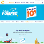 Save 10c Per Litre Today Only at Z Petrol Stations with Flybuys