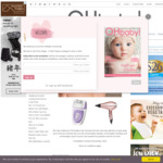 Win a Remington Effortless Glide Epilator, Rose Luxury Dryer, and Quick Groom from Oh Baby