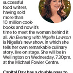 Win a Double Pass to an Evening with Nigella Lawson from The Dominion Pots